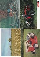 AGRICULTURE . Lot 7 Cpm 10x15 . MACHINES AGRICOLES ( Tracteurs, Motoculteurs, Etc...) Beaux Plans - Tracteurs