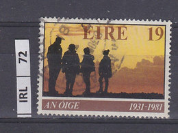 IRLANDA   1981Anniversario Ostelli Gioventù  19 Usato - 1949-... Repubblica D'Irlanda