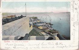 Vintage 1905 - Québec - La Citadelle - Citadel Fortress - Written - Stamp Postmark - 2 Scans - Québec - La Citadelle