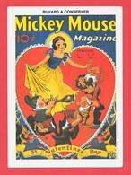Buvard - Tres Rare -MICKEY MOUSE - 1938 - Café & Thé