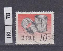 IRLANDA   1990Tesori D'arte 10 Usato - 1949-... Repubblica D'Irlanda