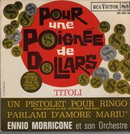Disque 45 Tours ENNIO MORRICONE Musique De Film *** - Filmmusik