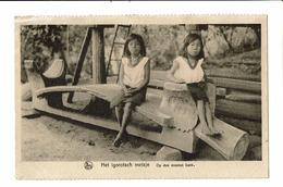 CPA - Carte Postale-Philipines- Het Igorotsch Meisje-op Den Mooie Bank  VM1062 - Philippines