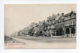 Belgique: Flandre Occidentale, Nieuwpoort, Nieuport Bains, La Digue (19-348) - Nieuwpoort
