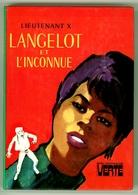 """Bibliothèque Verte - Lieutenant X - """"Langelot Et L'inconnue"""" - 1978 - Bibliothèque Verte"""
