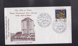 """ENVELOPPE , Exposition """" Les Arts En France """" Centre Commercial Les Arcades à NOISY LE GRAND  93 - Autres Collections"""