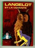 """Bibliothèque Verte - Lieutenant X - """"Langelot Et La Voyante"""" - 1975 - Bibliothèque Verte"""