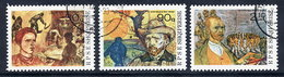ALBANIA 1990 Van Gogh Centenary, Used.  Michel 2441-43 - Albanie
