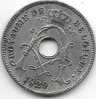Belguim 10 Centimes 1929 French   Vf - 04. 10 Centesimi