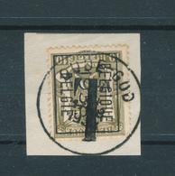 682/28 - Timbre PREO 1938 S/ Fragment - Utilisé à OUDE GOD Comme Timbre-Taxe - EMPLOI PEU COURANT - Precancels