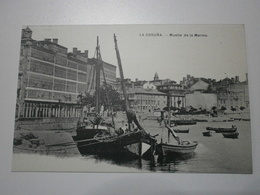 Espagne. La Coruna, Muelle De La Marina (8101) - La Coruña