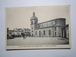 LE CHAMBON-FEUGEROLLES - Place De L'église - Le Chambon Feugerolles