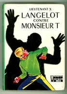 """Bibliothèque Verte - Lieutenant X - """"Langelot Contre Monsieur T"""" - 1977 - Bibliothèque Verte"""