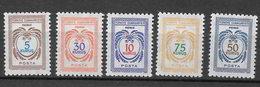 Turchia 1971 Francobolli Di Servizio. Nuovo Disegno Serie Completa Nuova/mnh** - 1921-... Repubblica