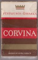 CORVINA-Hungarian  Empty Cigarettes Carton Box Around 1970 - Empty Cigarettes Boxes