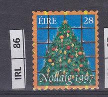 IRLANDA    1997Natale  Usato - 1949-... Repubblica D'Irlanda