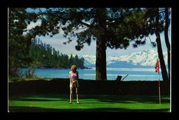 USA Californie Nevada Lake Lac Tahoe Golf Course Putting - Etats-Unis
