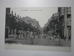 Espagne. La Coruna, Calle De San Andres (8108) - La Coruña