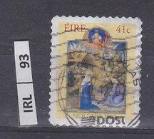 IRLANDA    2002Natale 41 Usato - 1949-... Repubblica D'Irlanda