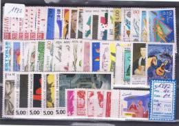 FR-C92 - FRANCE Année Complète Neuve** 1er Choix 1992  Faciale 23,50 € - 1990-1999