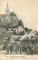 50* MONT ST MICHEL  Arrivee Train    MA86,1103 - Le Mont Saint Michel