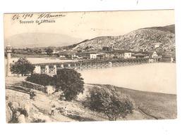 2874/ CP Souvenir De L'Albanie Stempel 10 Para N.Belgien-Belgique Wasmes 1908 - Levant Autrichien