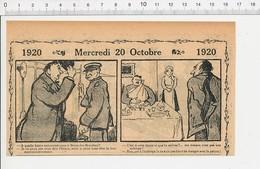 2 Scans Humour De 1920 Bécon-les-Bruyères Exactidude Trains Dpuane Suisse Jambons Métier Charcutier Feuille Boucher216E5 - Vieux Papiers