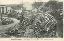 51* TOURS SUR MARNE Crues 1910    MA86,1224 - France