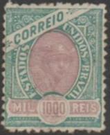 BRAZIL - 1894 1000r Liberty Head. Scott 122. Mint * - Ongebruikt