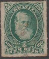 BRAZIL - 1878 100r Dom Pedro. Scott 72. Mint * - Ongebruikt