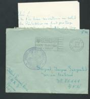 """ Compagnie Administrative Regionale N°3/ LE COMMANDANT + RENNES Rp  Pr SP 86641 AFN  5 4/03/1959- BB16019 - Storia Postale"