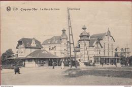 Le Coq-De Haan-la Gare Avec Tram 1905. - De Haan
