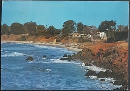 Fajara Cliffs, Les Falaises De Fajara, Yundum, Gambia Postcard Sent To Bouc Bel Air France, Used - Gambia