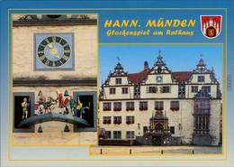 Ansichtskarte Hannoversch Münden Hann. Münden Glockenspiel Am Rathaus 1985 - Hannoversch Muenden