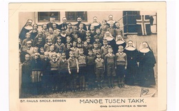SC-1774    BERGEN : St. Pauls Skole : Mange Tusen Takk - Norwegen