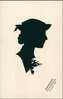 Exposition Universelle/Schattenriss Junge Frau, Kunst Eifelturm Paris 1937 - Peintures & Tableaux