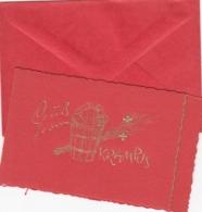 Krampuskärtchen Mit Kuvert - Gruss Vom Krampus  - 1930 - Holidays & Celebrations