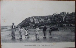 14 Calvados CPA Arromanches La Plage à Marée Basse - Arromanches