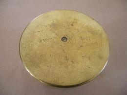 Douille Allemande 110 Mm Datée 1917 (neutralisée) - Equipement