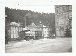 Photographie Issue D'un Tirage D'une Plaque Photographique , 150 X 105 Mm , Automobile , Hôtel Des Thermes - Automobiles