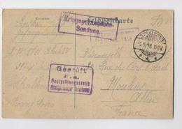 CPA PRISONNIERS DE GUERRE - 1918 - CAMP De STRALKOWO En Pologne - Kriegsgefangener - Guerre 1914-18