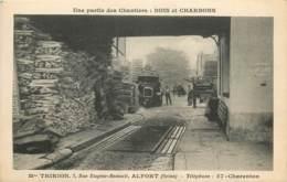 ALFORT CHANTIERS BOIS ET CHARBONS MAISON THIRION RUE EUGENE RENAULT - France