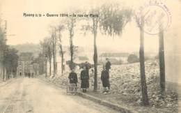 ROSNY SOUS BOIS GUERRE 1914 LA RUE DE PARIS - Rosny Sous Bois