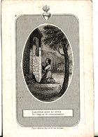 GEBOREN TE ELVERSELE 1818+1851 MARIA-JOSEPHA STAS. - Religion &  Esoterik