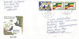 Ethiopia 2000 Modjo EMS Flag Cover - Ethiopië
