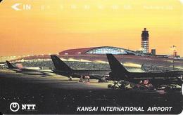 Télécarte Kansai International Airport  Japon - Avions