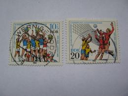 DDR  2814 - 2815  O - [6] République Démocratique