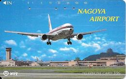 Télécarte Nagoya Airport  Japon - Avions