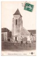 Villiers-sur-Marne - L'Eglise - édit. F.F. Fleury 56 + Verso - Villiers Sur Marne