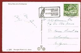 Sloganstempel  Basel 50  Jahre Aero Club Der Schweiz  1901 -1951 - Transports